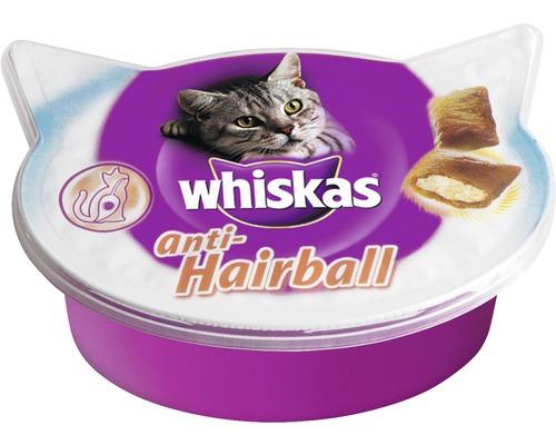 Snack pour chats Whiskas anti-boules de poils 60 g