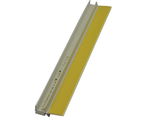 Bande d''étanchéité pour enduit en PVC avec lèvre de protection, longueur: 2,60m