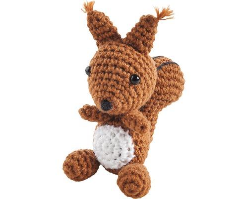 Kit créatif pour crochet écureuil