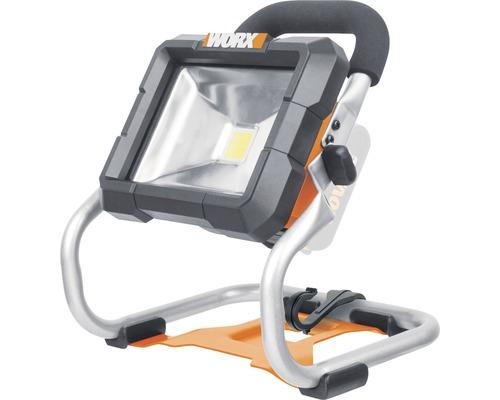 Lampe sans fil Worx 20V WX026.9, sans batterie ni chargeur