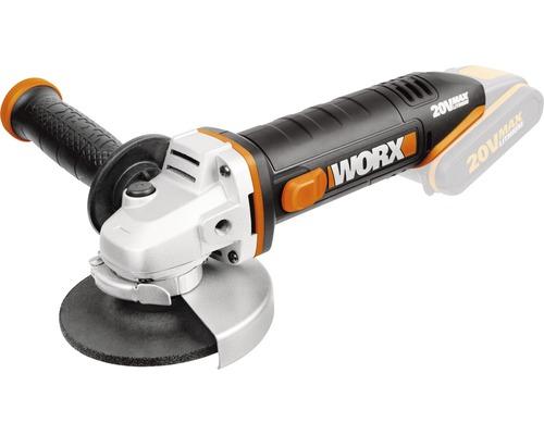 Meuleuse d''angle sans fil Worx 20V WX800.9, sans batterie ni chargeur
