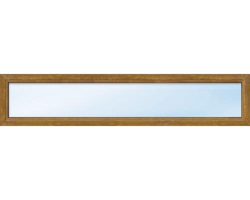 élément Fixe De Fenêtre En Plastique Aron Basic Blancgolden Oak