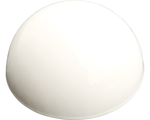 Baldaquin de lampe métallique blanc Ø80mm