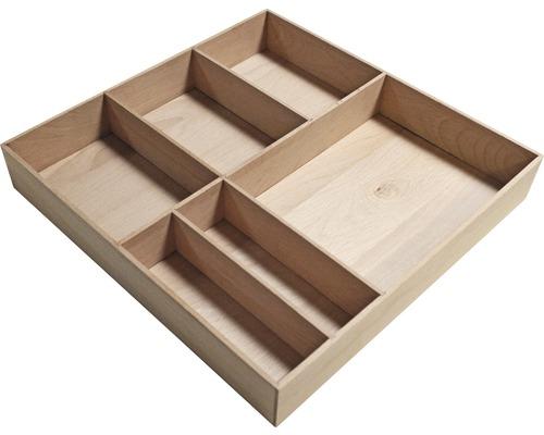 Organisateur de tiroir Fackelmann 38x4,5x37cm hêtre 80010