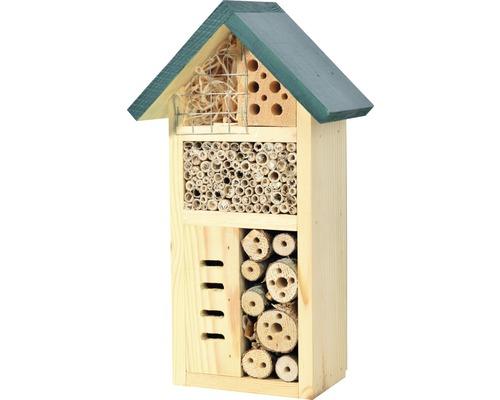 Hôtel à insectes Zur goldenen Biene 15 x 8,5 x 25,5 cm
