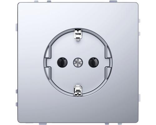 Insert de prise de courant Merten D-Life MEG2301-6036 acier inoxydable laqué