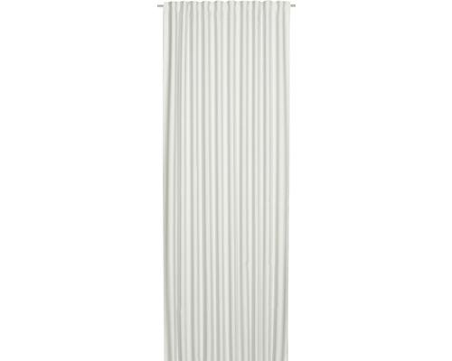 Rideau obscurcissant avec galon fronceur Midnight blanc 140x255 cm