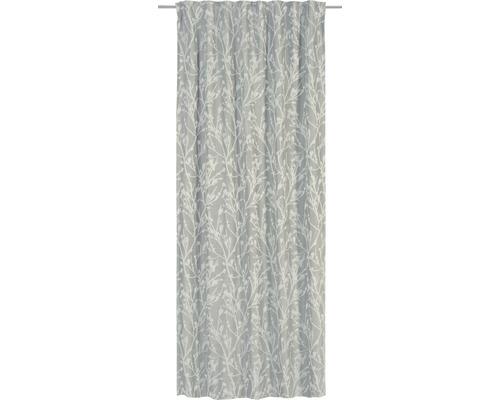 Rideau avec galon fronceur Secret Garden écru 135x255 cm
