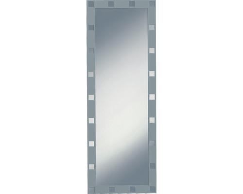 Siebdruckspiegel Domino 50x140 cm silberfarben