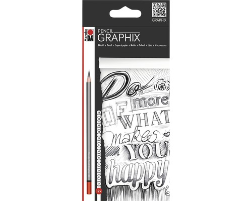 Crayons Marabu Pencil Graphix set de 12
