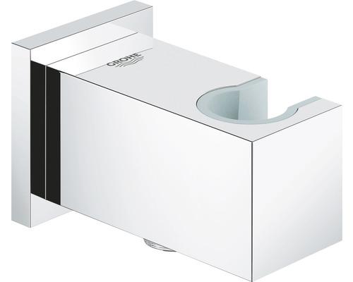 GROHE Wandanschlussbogen Euphoria Cube mit Brausehalter 26370000 chrom