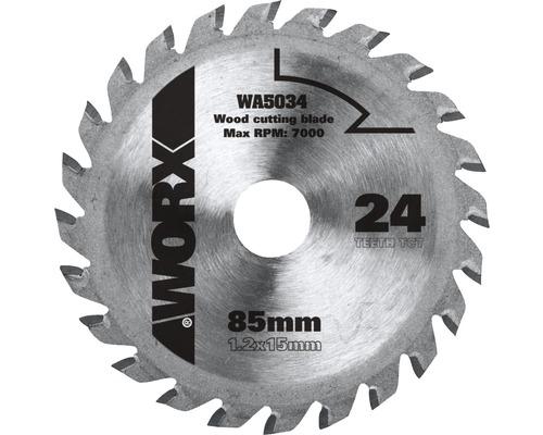 Lame de scie circulaire Worx 24 Z pour Versacut