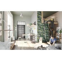 Papier peint intissé 524901 Crispy Paper feuilles de palmier, vert-thumb-4