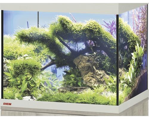 Aquarium EHEIM Vivaline 82 sans éclairage 81x36x40cm chêne gris