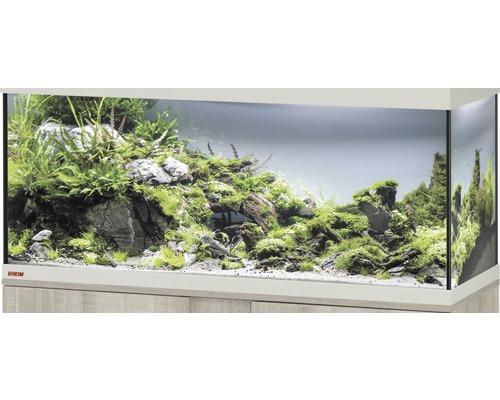 Aquarium EHEIM Vivaline 123 sans éclairage 121x41x54cm chêne gris