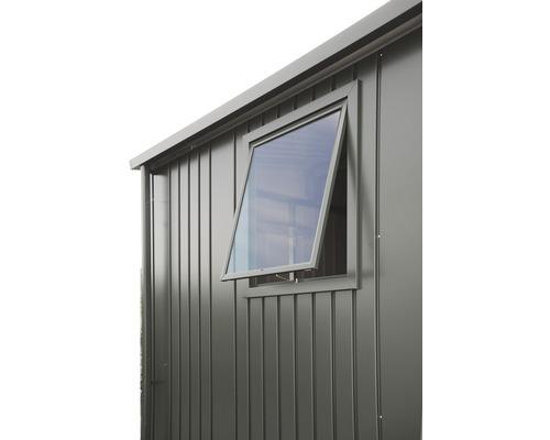Fenêtre Biohort Europe, gris quartz-métallique