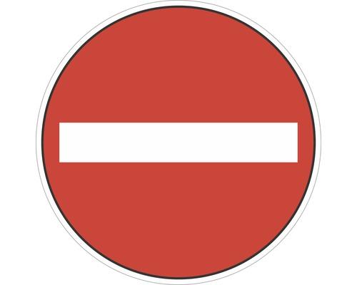 Panneau «Passage interdit» autocollant Ø100 mm