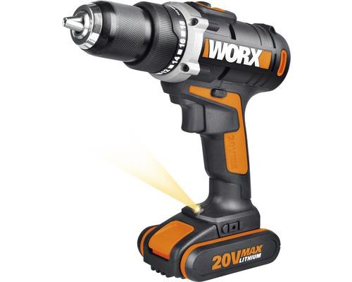Akku-Bohrschrauber Worx Starterset WX183.2 20 V inkl. Akku und Ladegerät