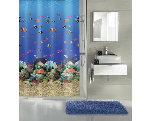 Rideau de douche Kleine Wolke Maledives multicolore 180 x 200 cm