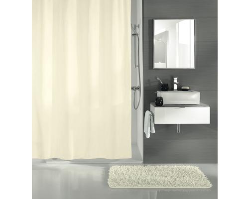 Rideau de douche Kleine Wolke Uno beige 180x200cm