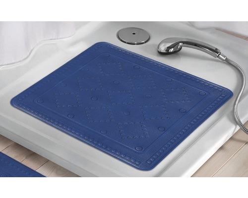 Tapis antidérapant pour douche Kleine Wolke Arosa 55 x 55 cm bleu