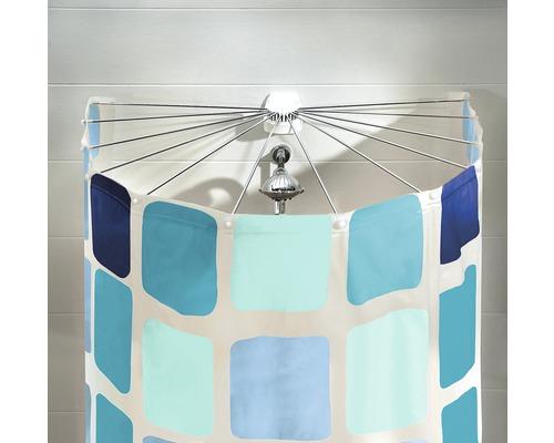 Structure parapluie pour rideau de douche Kleine Wolke Big Spider sans rideau de douche