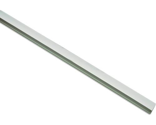 Profilé latéral blanc pour store à serrage, 150 cm, lot de 2