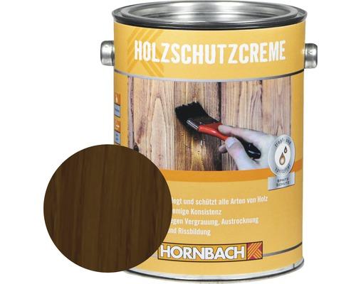 Crème de protection du bois noyer 2,5 l