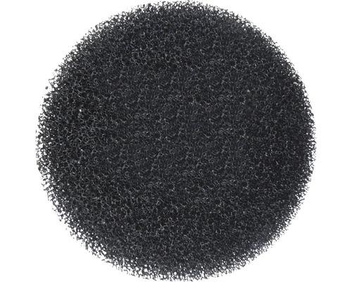 Éponge filtrante grossière ronde noire