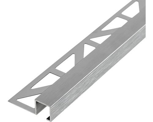 Profilé de finition Dural Squareline DPSA 1162-SF 11 mm longueur 250 cm, aluminium