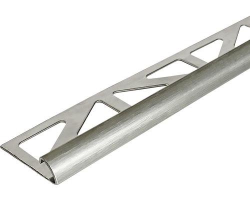 Profilé de finition Dural Durondell DRE 80 8 mm longueur 250 cm, acier inoxydable