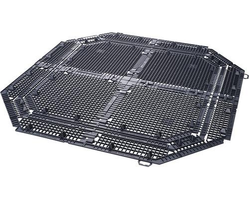 Grille de sol pour composteur thermique Garantia Eco King 900 l