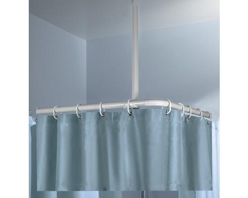 Support de fixation au plafond Kleine Wolke blanc 60cm Ø 25mm
