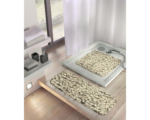 Tapis antidérapant pour baignoire Kleine Wolke Stepstone 92 x 36 cm nature