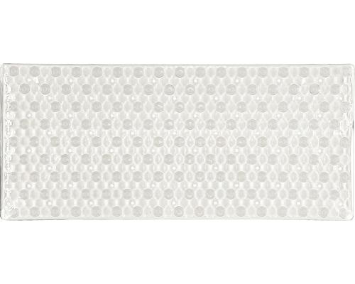 Tapis antidérapant pour baignoire Kleine Wolke Honey 80 x 36 cm transparent