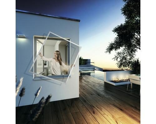 Cadre moustiquaire pour fenêtre EXPERT blanc 140x150 cm
