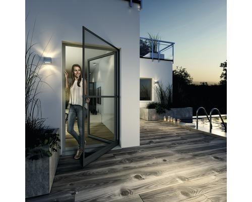 Moustiquaire cadre de serrage EXPERT pour portes anthracite 120x240cm
