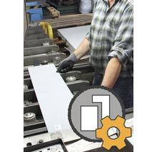 Découpe de tôle sur mesure en alu, acier inoxydable et acier jusqu'à 1000x2000 mm à commander en magasin à partir de 3€-thumb-0