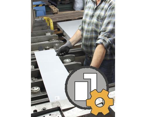 Blechzuschnitt nach Maß in Aluminium, Edelstahl und Stahl bis zu 1000x2000 mm im Markt bestellen ab 3€