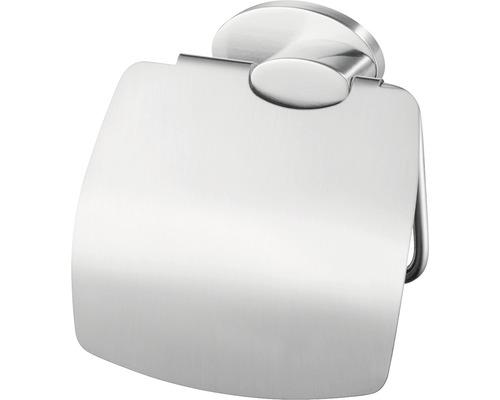 Support pour rouleaux de papier toilette avec couvercle Side chrome