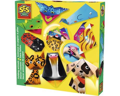 Kit créatif pli d''animaux 8pièces