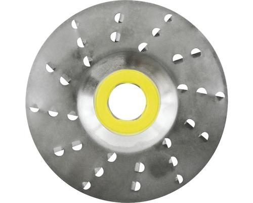 Râpe roto Ø 125x22,2mm 6,0mm lame très grossière