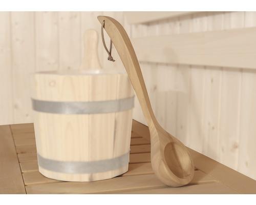 Louche pour sauna Weka en bois