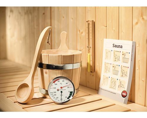 Kit d''accessoires Sauna Premium Weka 5pièces