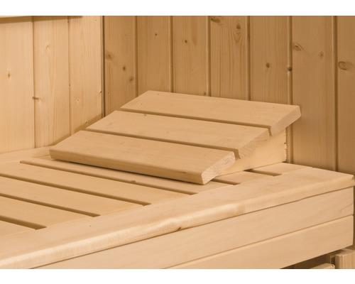 Sauna Kopfstütze Weka aus Holz