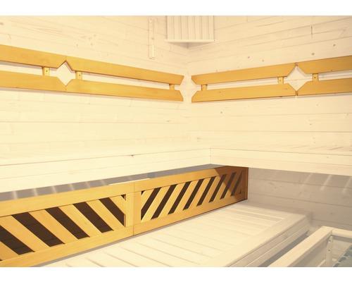 Pack confort 1 pour sauna Weka, pour des saunas à partir de 194x144cm