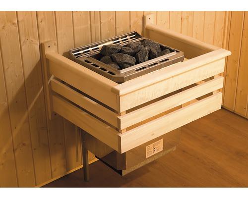 Grille de protection du poêle pour sauna Weka 60x48cm en bois