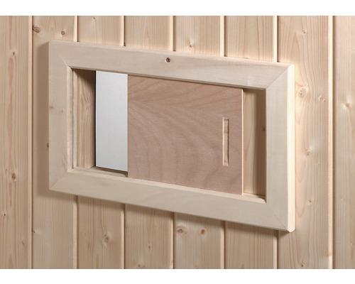 Volet d''aération pour sauna Weka en bois