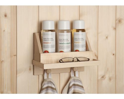 Kit de concentré pour sauna Weka avec étagère et 3senteurs de 250ml