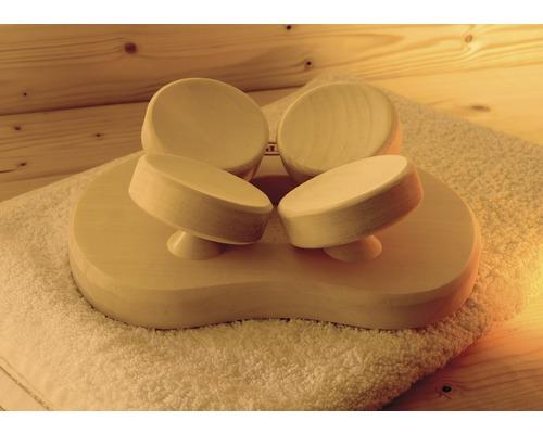 Appuie-tête ergonomique pour sauna Weka